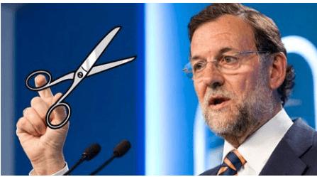 RAJOY-ALIAS-EL-RECORTES% - Si con Zapatero estábamos mal mirados ya con Rajoy huyen a nuestro paso