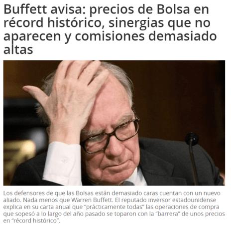 buffett-bolsa-cara% - Buffett no se aclara del todo