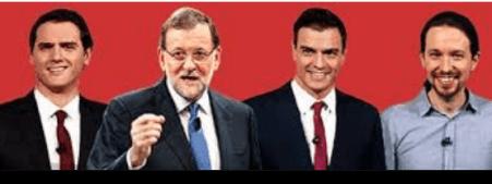 politicos-españoles-2% - Las armas del PP: miedo y mentiras, las de la oposición:  amenazas y puñaladas