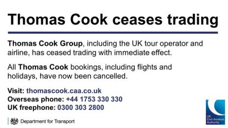 quiebra-cook-por-twitter% - Thomas Cook le hace un agujero a Canarias en particular y al sector turístico español en general.