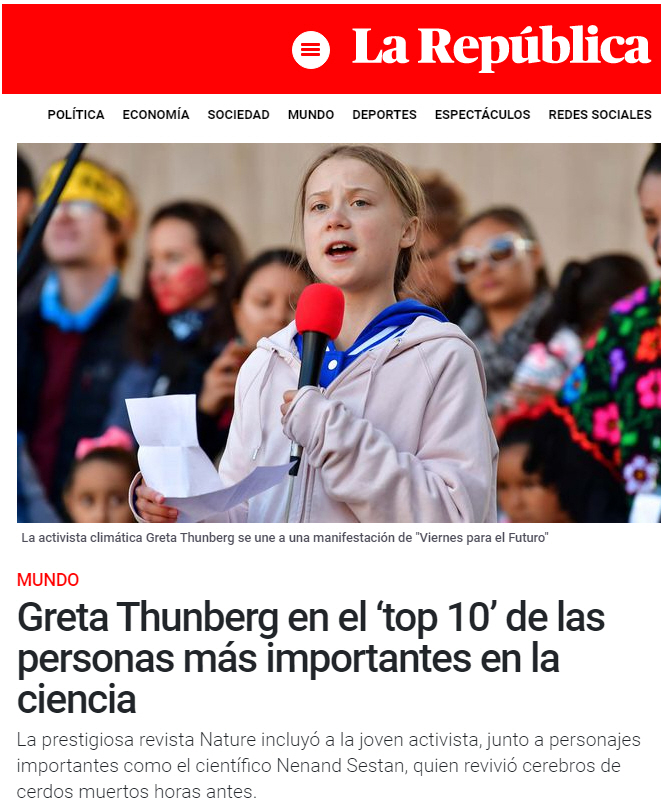 Hasta los Thunbergs de la joven Greta