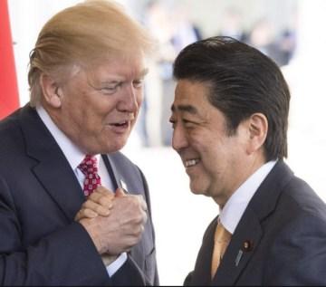 trump-y-abe% - ¿Por qué Trump no menta a Japón para nada?