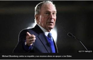 bloomberg% - Sr. Bloomberg es usted un pobre hombre rico