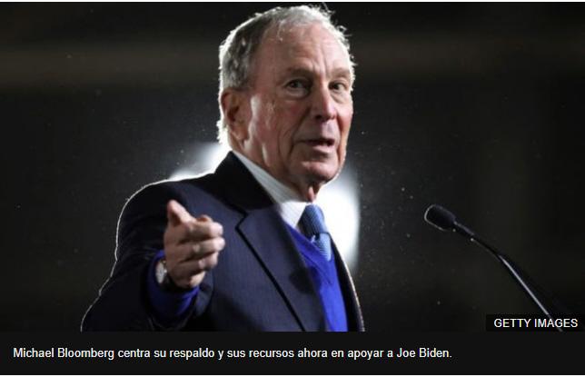 Sr. Bloomberg es usted un pobre hombre rico