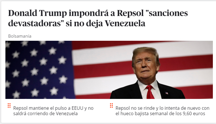 trump-contra-repsol% - Europe is Europe my friends