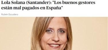 lola-solano% - ¿Están mal pagados los buenos gestores en España?