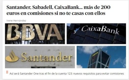 comisiones-bancarias% - Sesión alcista tras lo más urgente superado