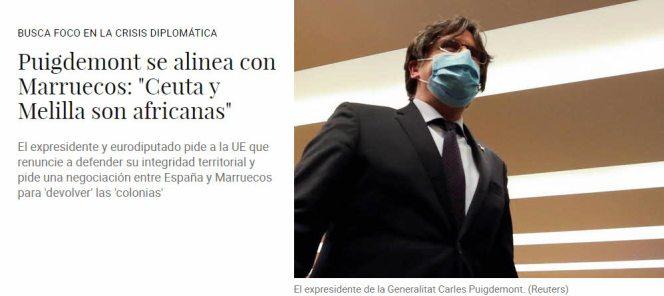 PUIGDEMONT-DEFIENDE-A-ESPANA% - Humor salmón 21 de mayo