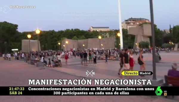 captura-pantalla-lasexta-manifestacion-negacionista% - ¿La TV siempre es fiel a la realidad?