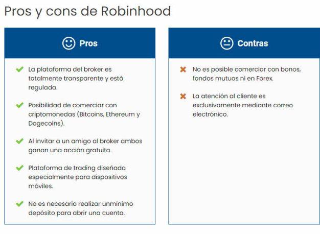 pros-y-contras-robinhood% - La primera vela de robinhood y su salida a bolsa ha sido nefasta