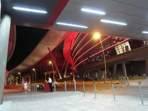 フェラーリ・ワールド・アブダビの入り口