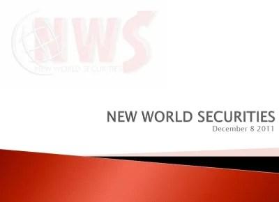 ニューワールド証券
