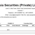残っていたスリランカ株の売却完了