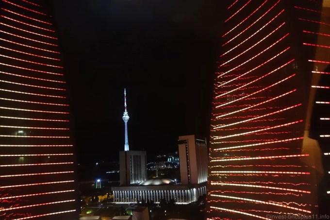 アゼルバイジャンの象徴フレームタワー(azerbaijan flame towers)