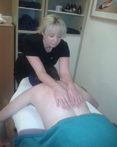 A Deep Tissue Massage Treatment