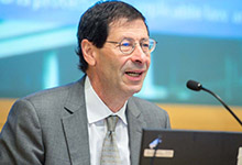 """Maurice Obstfeld: """"The Fund has long tried to build on its experiences in the field and on new research to improve its effectiveness in economic surveillance, technical assistance, and crisis response."""" (Credit: IMF)"""