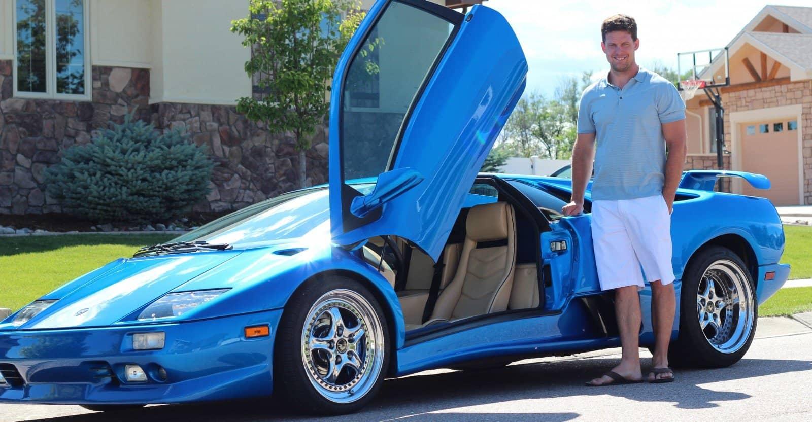 Lamborghini diablo smart cover