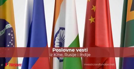 Poslovne vesti iz Kine, Rusije i Indije | Investicioni fondovi