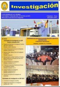Informativo Investigacion Chimbote Diciembre 2014