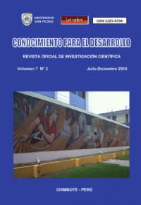 Revista Conocimiento para el Desarrollo V°7N°2 – Chimbote 2016