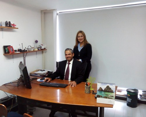 Dr. Carlos Perez - Dra Alexandra Terront