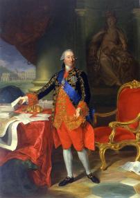 Francisco Javier Ramon- El duque de Grimaldi, copia de Anton von Maron.