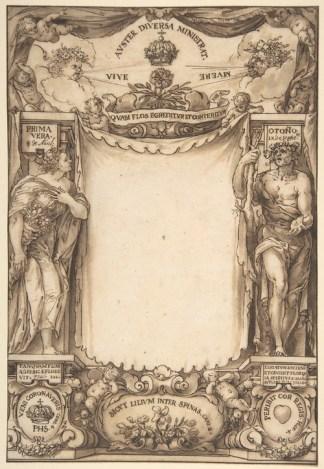 Sebastián Herrera Barnuevo: Alegoría de la muerte de Felipe IV. Metropolitan Museum, Nueva York.