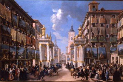 Lorenzo de Quirós: Decoraciones efímeras para la entrada de Carlos III en la calle Platerías. Museo de Historia, Madrid.