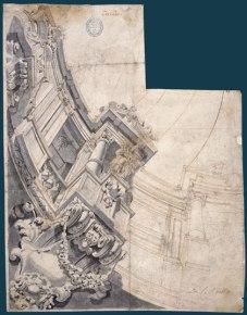 Claudio Coello: Proyecto de decoración para una bóveda. Biblioteca Nacional, Madrid.