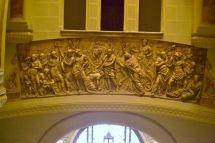 Friso procedente del Palacio de Godoy. Foto Jesús C.V.