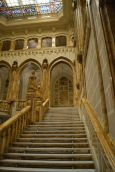Detalle del tramo de escalera que sube al segundo piso. Foto Jesús C.V.