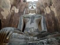 Buda gigante del templo de Wat Si Cum, Sukhothai