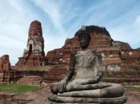 Vista de Wat Phra Mahathat, Ayutthaya