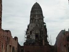 Vista de Wat Ratchaburana, Ayutthaya