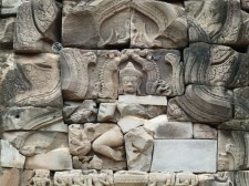 Relieve del templo de Phimai