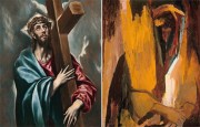 Cristo abrazado a la cruz / David Bomberg- Escucha, ¡Oh Israel!