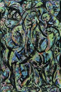 Jackson Pollock- Gótico