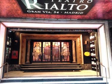 El Rialto en la actualidad, convertido en el Teatro Movistar