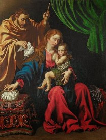 Luis Tristán: La Sagrada Familia. Minneapolis Institute of Arts.