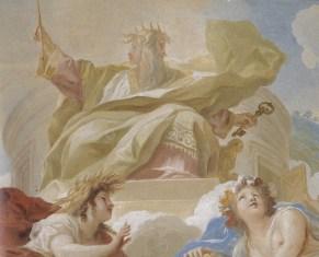 Luca Giordano: Carlos II como Jano Bifronte. Palacio Real de Aranjuez.