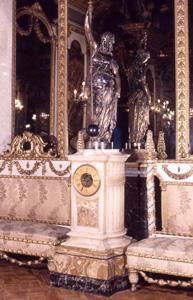 Reloj de pedestal. Museo Cerralbo, Madrid.
