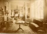 Vista del antiguo Salón de estar o de diario. ca. 1900.