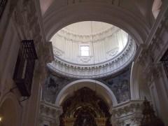 Interior de la cúpula de la Iglesia de las Calatravas.