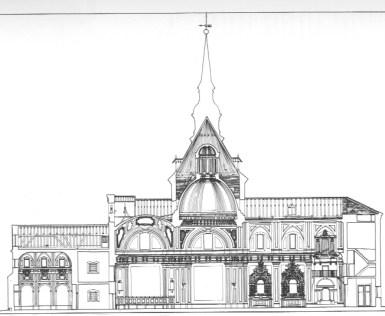 Sección de la Capilla de la Venerable Orden Tercera.