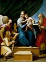 Rafael Sanzio: La Virgen del Pez. Madrid, Museo Nacional del Prado.