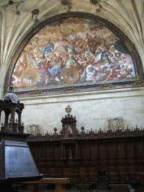 Antonio Palomino: Coro de la Iglesia de San Esteban en Salamanca.