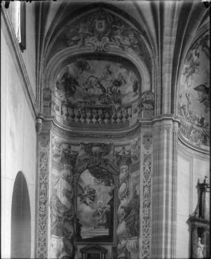 José Cano de Arévalo o Juan Vicente de Ribera: Capilla de la Anunciación en la Iglesia de Santa María, Alcalá de Hernares (desaparecida).
