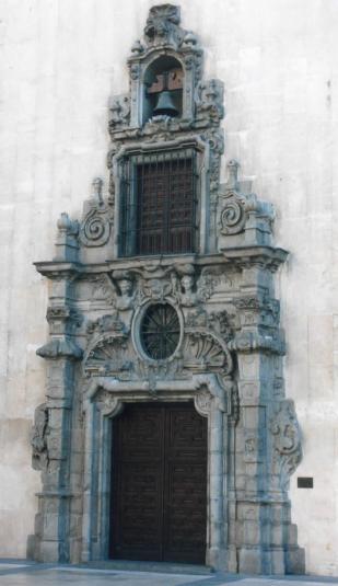 Pedro de Ribera: Portada del Monte de Piedad de Madrid.