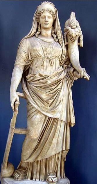 Ceres del Museo Pio Clementino del Vaticano