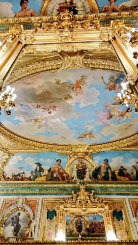 Sans Cabot: Alegoría del Ducado de Santoña. Techo del Salón de Baile